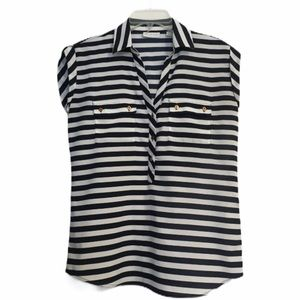 New York and company striped shirt